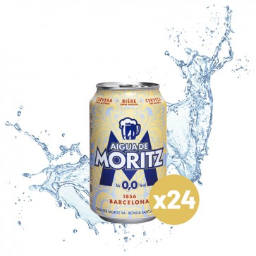 Aigua Moritz  (Pack 24 x 0,33L)