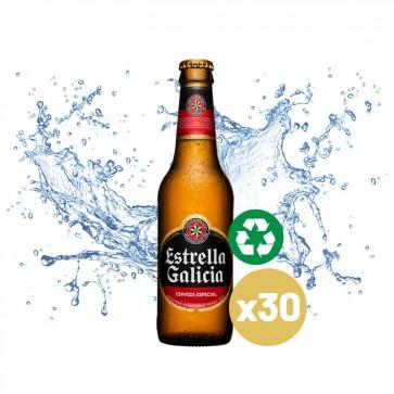 Estrella Galicia (Pack 24 x 0,33L) Cristal Retornable