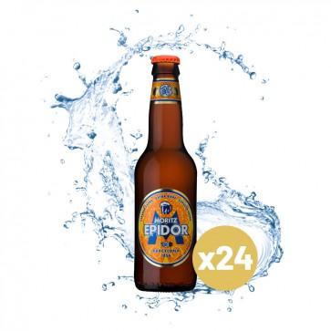 Moritz Epidor (Pack 24 x 0,33L) Cristal Retornable