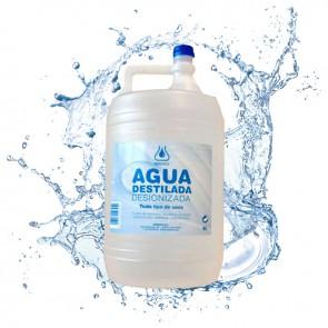 Agua destilada (Garrafa 5L)