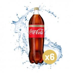 Coca-cola sin cafeína (Caja 6 x 2L)