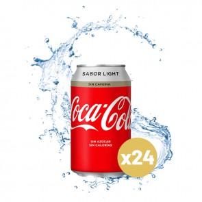 Coca-cola light (Caja 24 x 0,33L)