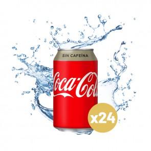 Coca-cola sin cafeína (Caja 24 x 0,33L)