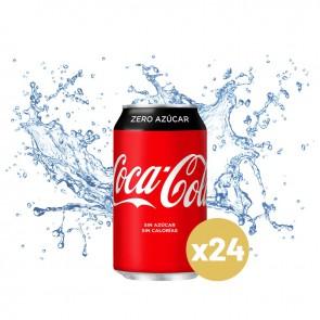 Coca-cola zero (Pack 24 x 0,33L)