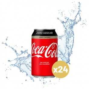 Coca-cola zero zero (Pack 24 x 0,33L)