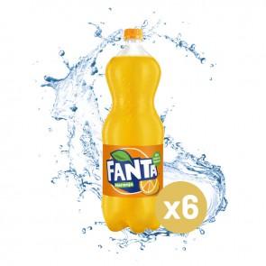 Fanta naranja (Pack 6 x 2L)