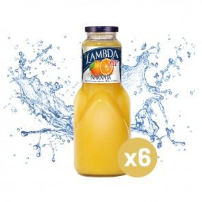 Lambda naranja (Pack 6 x 1L)